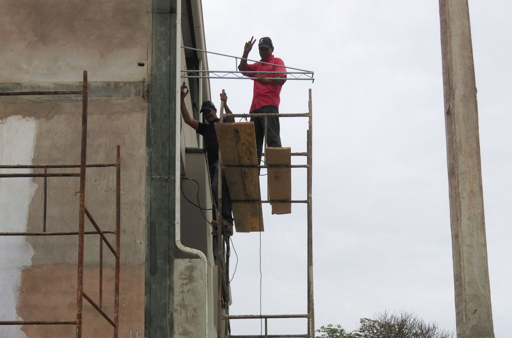 people taking safety shortcuts